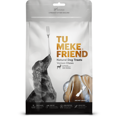Tu Meke Venison Chews Dog Treats