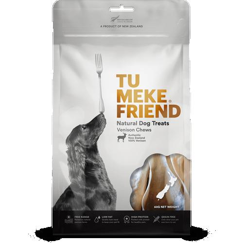 Tu Meke Venison Chews Dog Treats