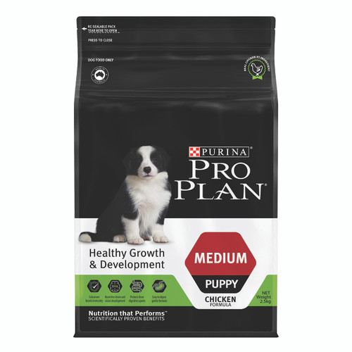 Pro Plan Puppy Medium Breed Chicken Dry Dog Food