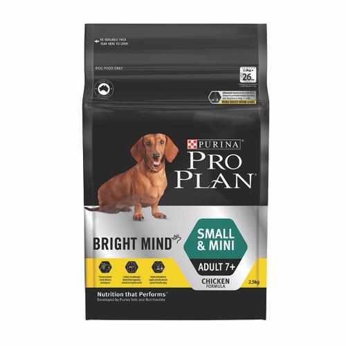 Pro Plan Senior Small & Mini Breed Bright Mind Chicken Dry Dog Food