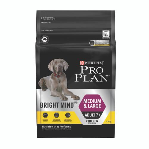 Pro Plan Senior Medium & Large Breed Bright Mind Chicken Dry Dog Food