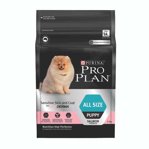 Pro Plan Puppy Sensitive Skin & Coat Salmon Dry Dog Food