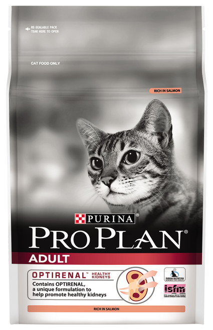 Pro Plan Adult Salmon with Optirenal Dry Cat Food