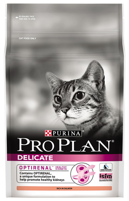Pro Plan Adult Delicate with Optirenal Dry Cat Food