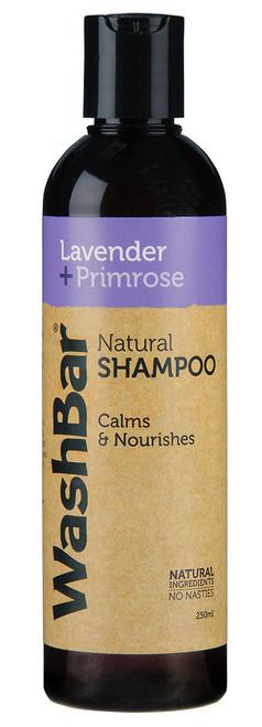 WashBar Lavender And Primrose Natural Shampoo