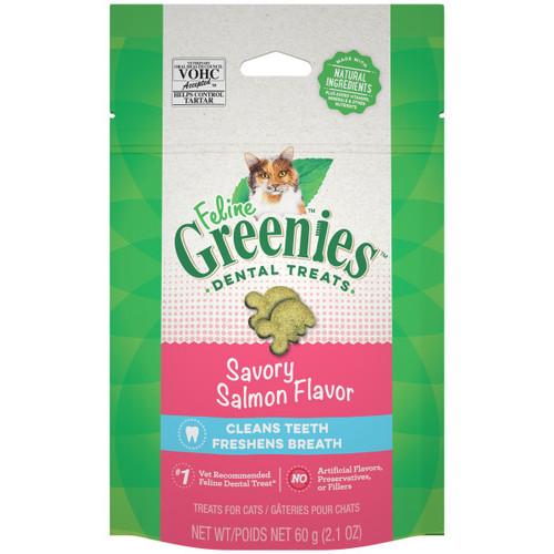 Greenies Savoury Salmon Dental Cat Treats