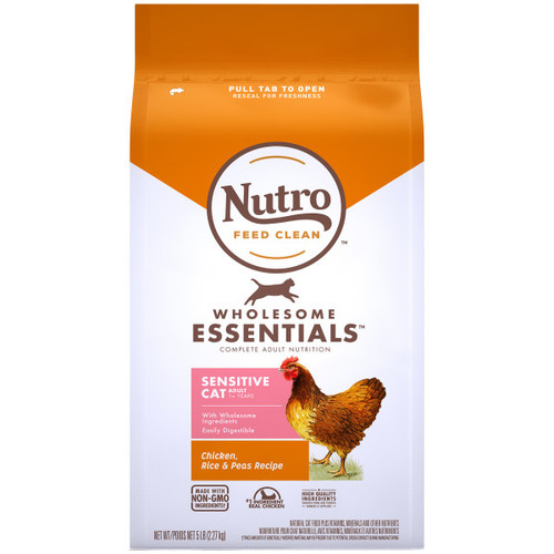 Nutro Wholesome Essentials Adult Sensitive Digestion Dry Cat Food