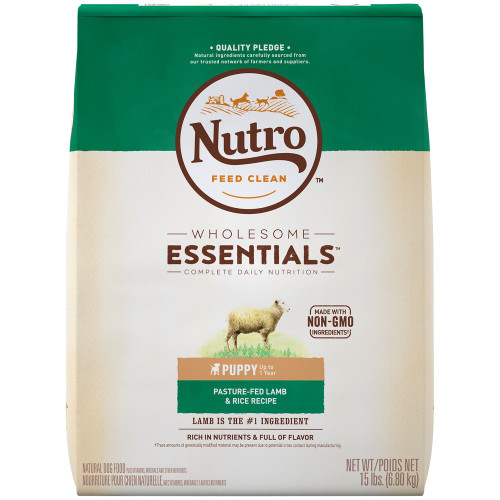 Nutro Wholesome Essentials Natural Lamb & Rice Puppy Dry Dog Food