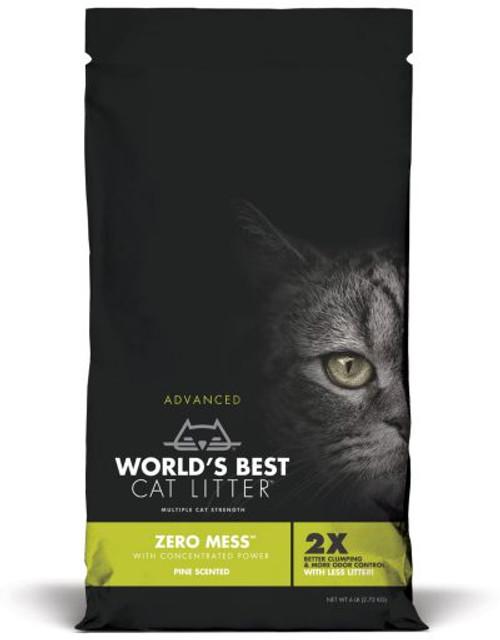 Worlds Best Zero Mess Pine Scented Cat Litter