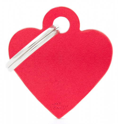 My Family Basic Hearts Tags