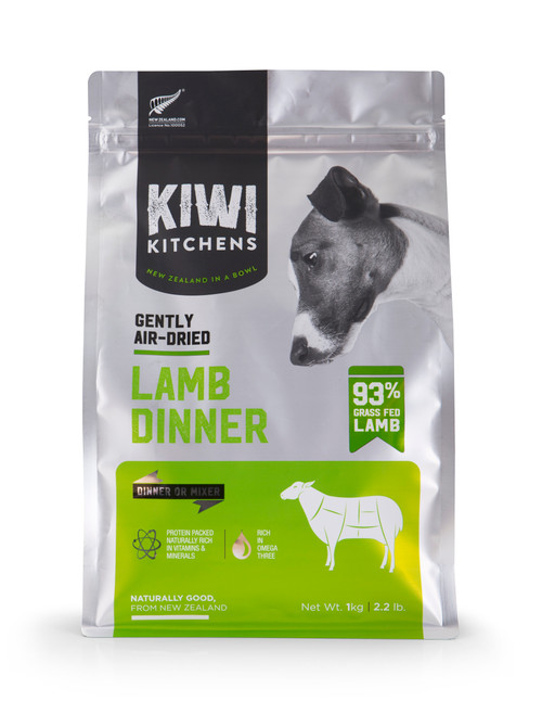 Kiwi Kitchens Air Dried Lamb Dinner Dry Dog Food