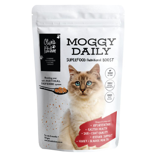 Olive's Kitchen Moggy Daily superfood nutritional boost