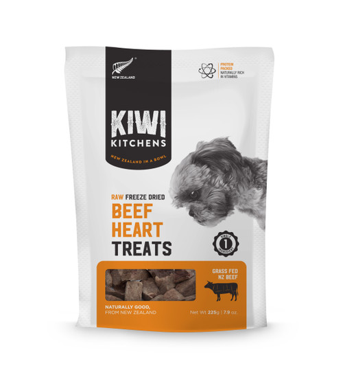 Kiwi Kitchens Freeze Dried Beef Heart Dog Treat
