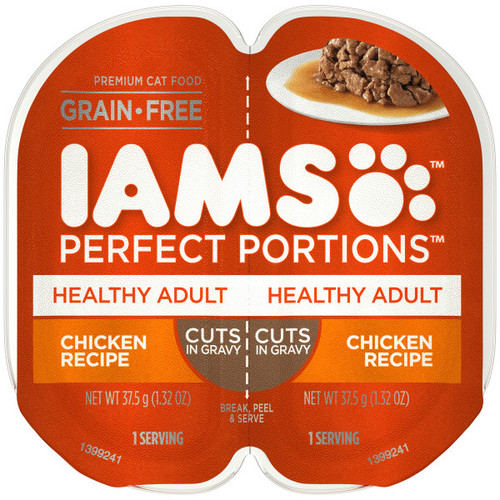 Iams Perfect Portion Healthy Adult Chicken in Gravy Wet Cat Food