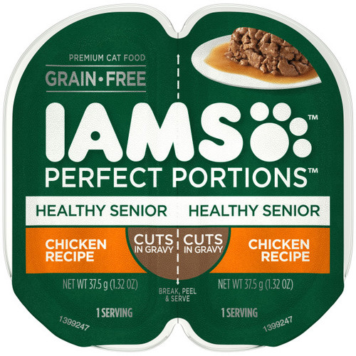 Iams Perfect Portion Healthy Senior Chicken in Gravy Wet Cat Food