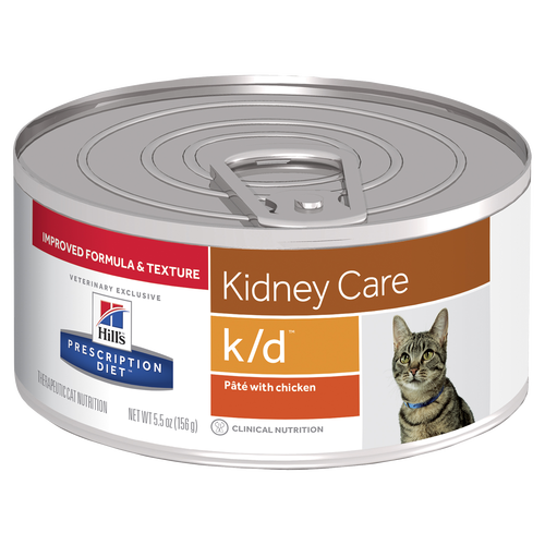 Hill's Prescription Diet k/d Kidney Care Pâté with Chicken Canned Cat Food
