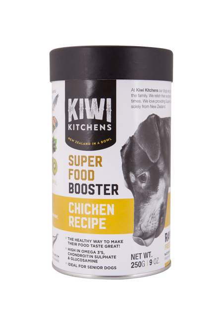 Kiwi Kitchens Freeze Dried Superfood Booster Chicken Recipe 250g