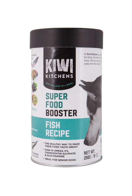 Kiwi Kitchens Freeze Dried Superfood Booster Fish Recipe 250g