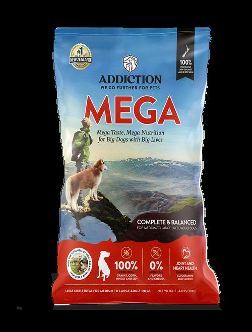 Addiction Mega Multi Protein Dry Dog Food