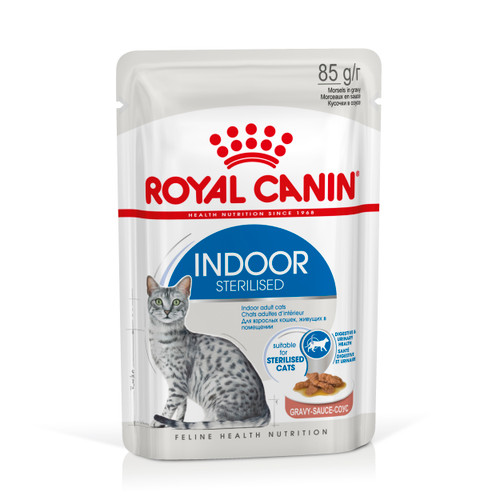 Royal Canin Indoor Gravy Wet Cat Food