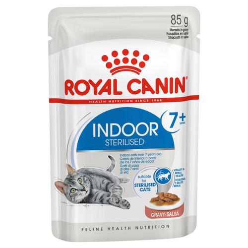 Royal Canin Indoor 7+ Gravy Wet Cat Food