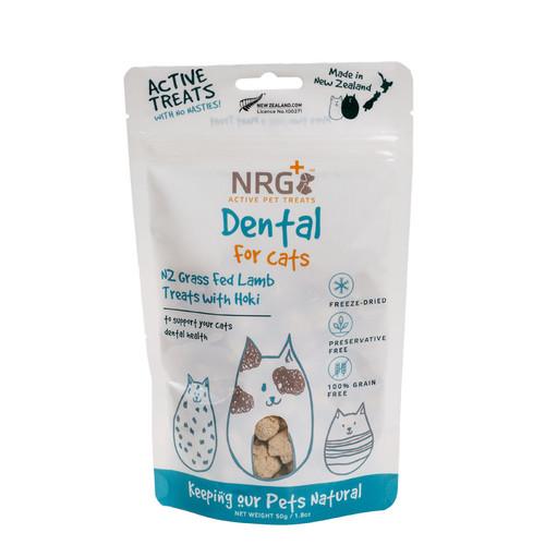 NRG+Freeze Dried Dental Cat Treats