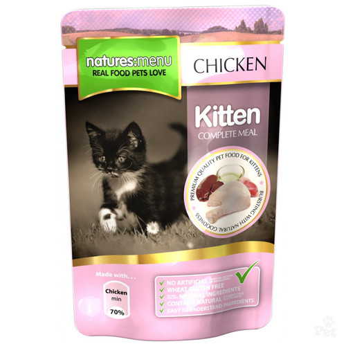Natures Menu Chicken Wet Kitten Food