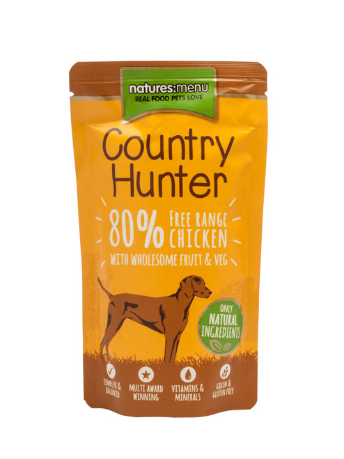 Natures Menu Country Hunter Free Range Chicken Wet Dog Food