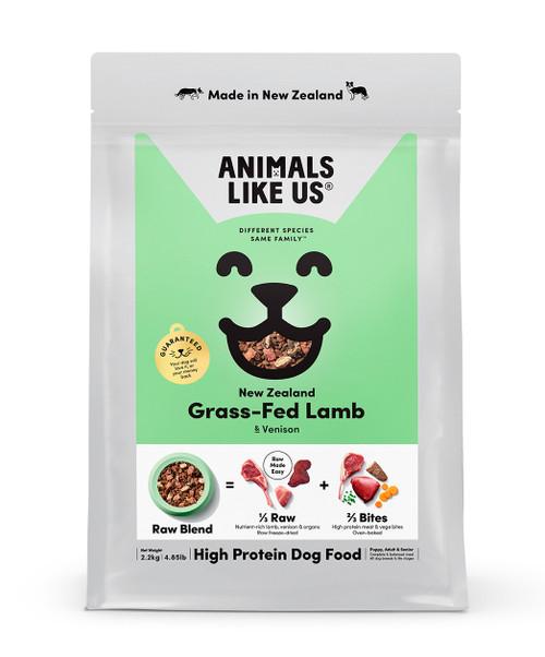 Animals Like Us RawBlend33 Lamb & Venison Freeze Dried Dog Food