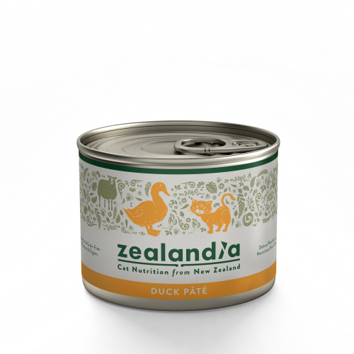Zealandia Deluxe Duck Pate Cat Food