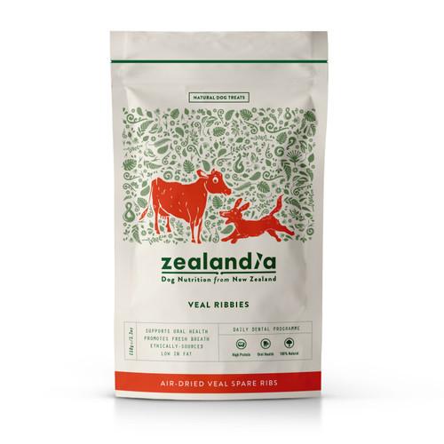 Zealandia Veal Ribbies Dog Treats