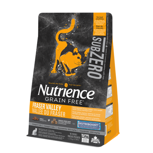 Nutrience Sub Zero Fraser Valley Dry Cat Food