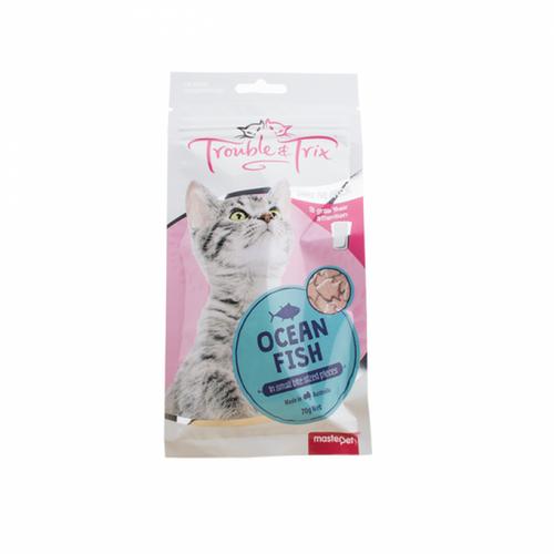 Trouble and Trix Ocean Fish Cat Treat