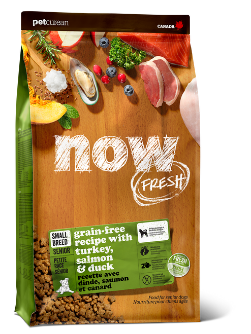 Now Fresh Grain Free Small Breed Dry Senior & Weight Management Dog Food