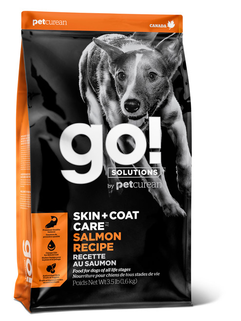 GO! Solutions Skin + Coat Care Salmon Dry Dog Food