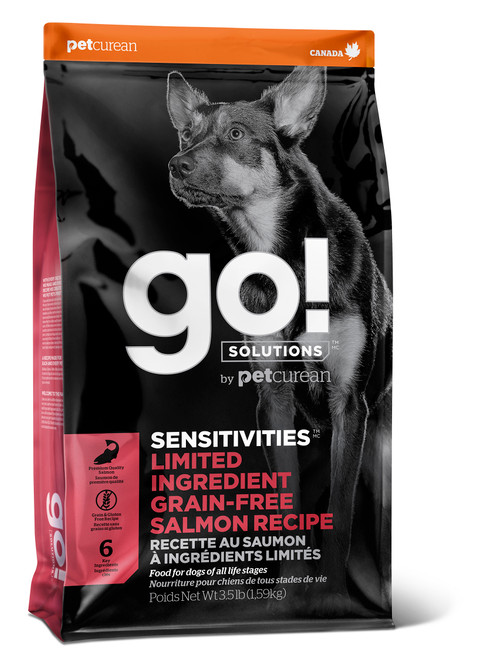 GO! Solutions Sensitivities Limited Ingredient Diet Salmon Dry Dog Food