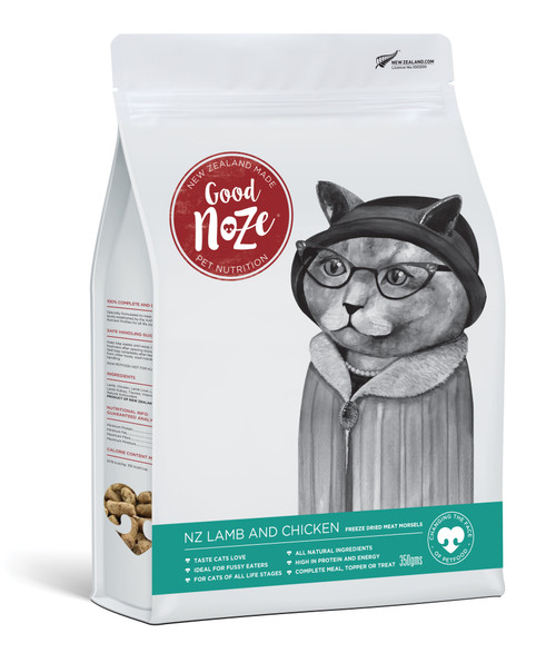 Good Noze NZ Lamb & Chicken Freeze Dried Cat Food