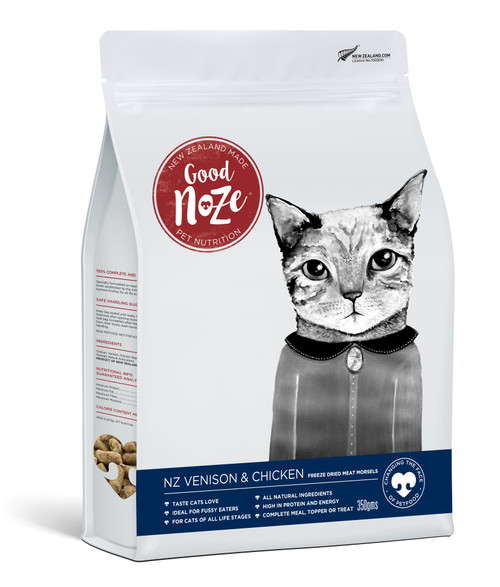 Good Noze NZ Venison & Chicken Freeze Dried Cat Food