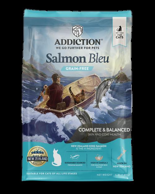 Addiction Grain-Free Salmon Bleu Dry Cat Food