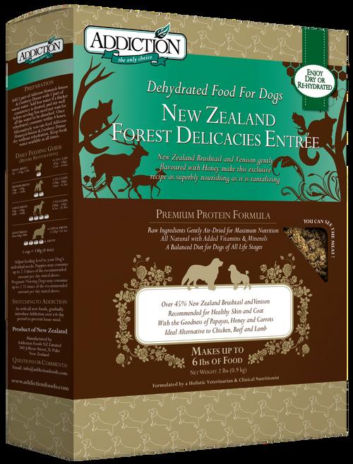 Addiction NZ Forest Delicacies Air Dried Dog Food