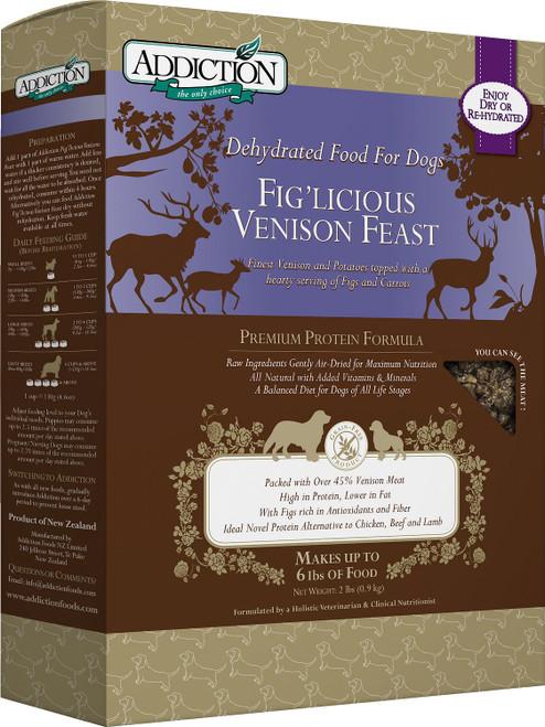 Addiction Grain-Free Fig'licious Venison Feast Air Dried Dog Food