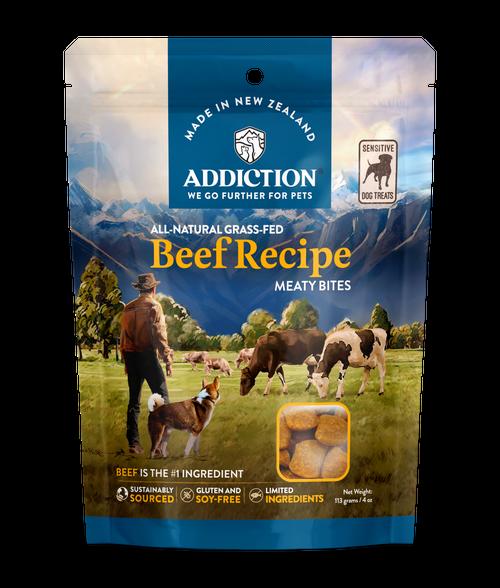 Addiction Grain-Free Beef Meaty Bites Dog Treats