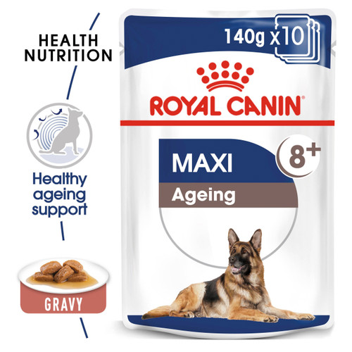 Royal Canin Maxi Ageing 8+ Gravy Wet Dog Food