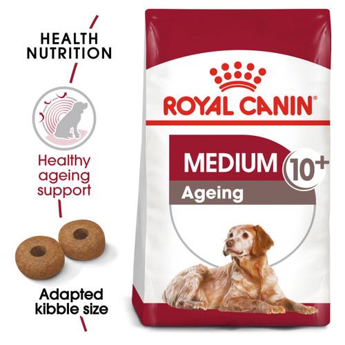 Royal Canin Medium Ageing 10+ Dry Dog Food