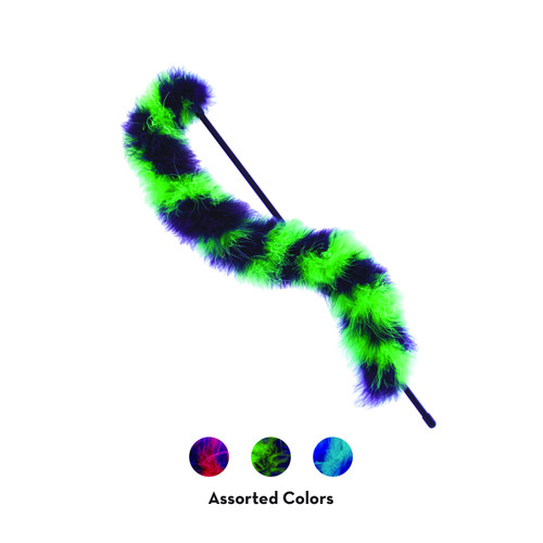 KONG Cat Active Twisted Boa Teaser Assorted
