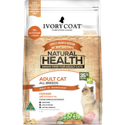 Ivory Coat Grain Free Chicken & Coconut Oil Dry Cat Food