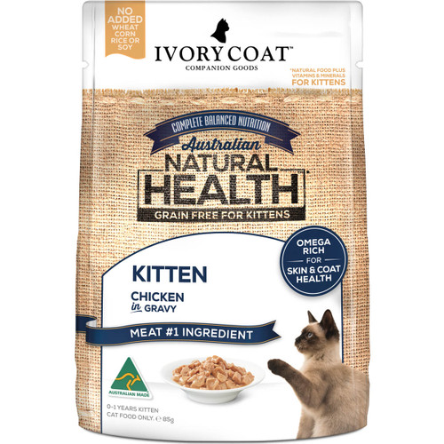 Ivory Coat Grain Free Chicken Wet Kitten Food