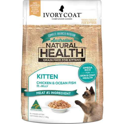 Ivory Coat Grain Free Chicken & Ocean Fish Wet Kitten Food
