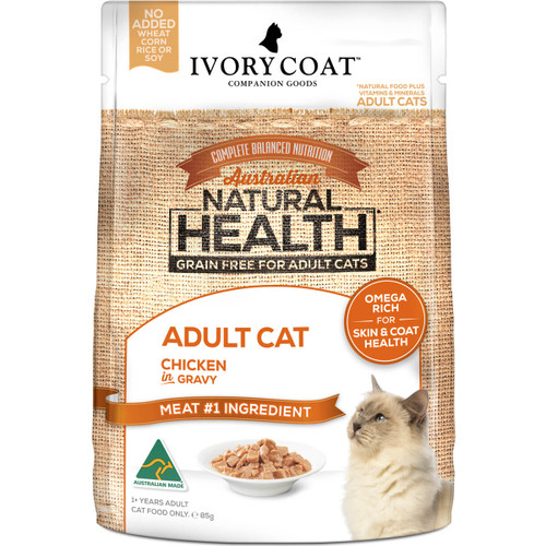 Ivory Coat Grain Free Chicken in Gravy Wet Cat Food