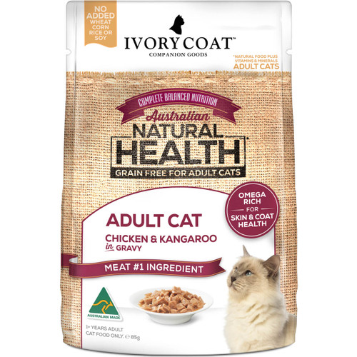 Ivory Coat Grain Free Chicken & Kangaroo Wet Cat Food